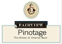 Fairview Charles Back Pinotage